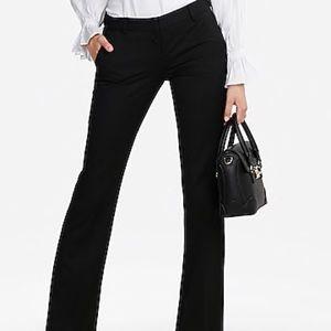 Express Correspondence Black Stripe Pants Sz 10